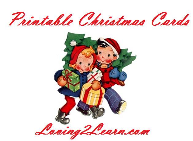 printable christmas cards cards and sayings